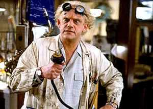 scientist from back to the future min